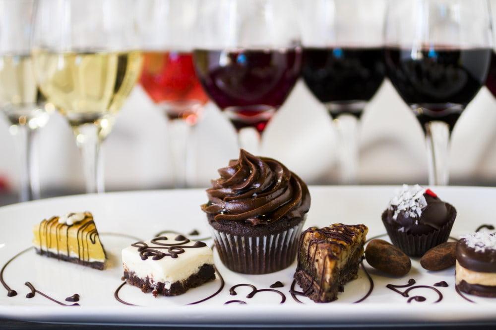 vin og chokolade